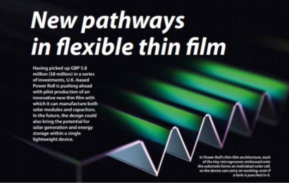 New pathways in flexible thin film