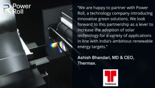 Quote from Ashish Bhandari, MD & CEO of Thermax